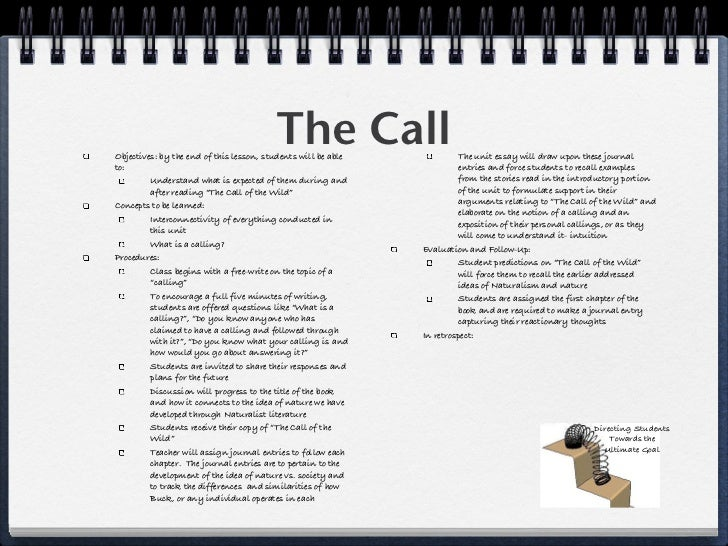 literary analysis essay on the call of the wild