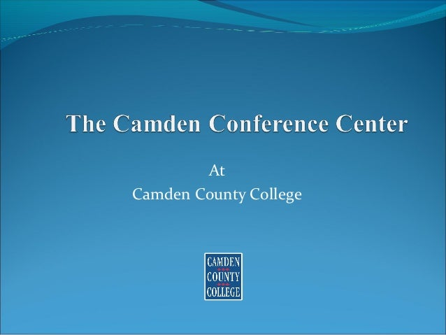 At Camden County College