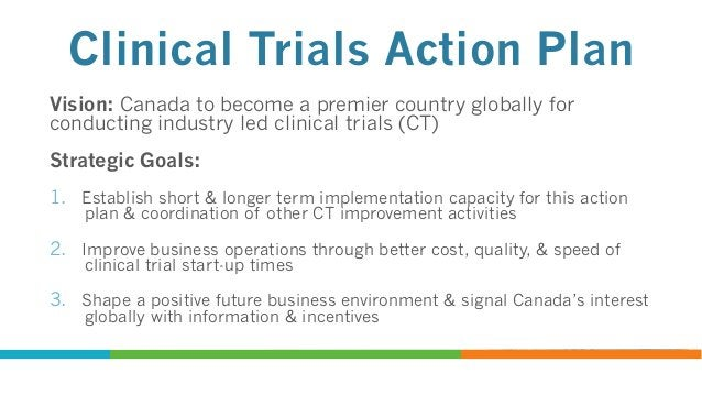 """What is Canadian Clinical Trials Asset Map (CCTAM)?  Component of Strategic Goal # 3 of Action Plan  Web-based """"living..."""