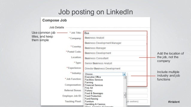 how to add job experience in linkedin