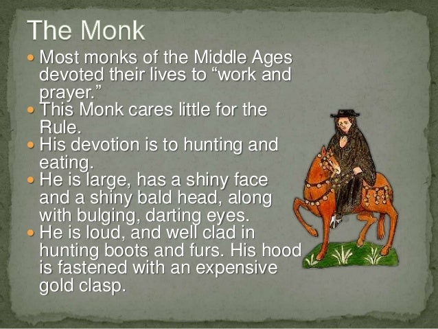 monk the canterbury tales