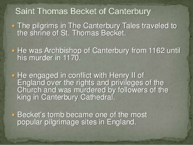 a focus on the character thomas becket in murder in the cathedral Murder in the cathedral by ts eliot the play ends in tragedy with the murder of thomas becket thus, the character analysis thomas becket.