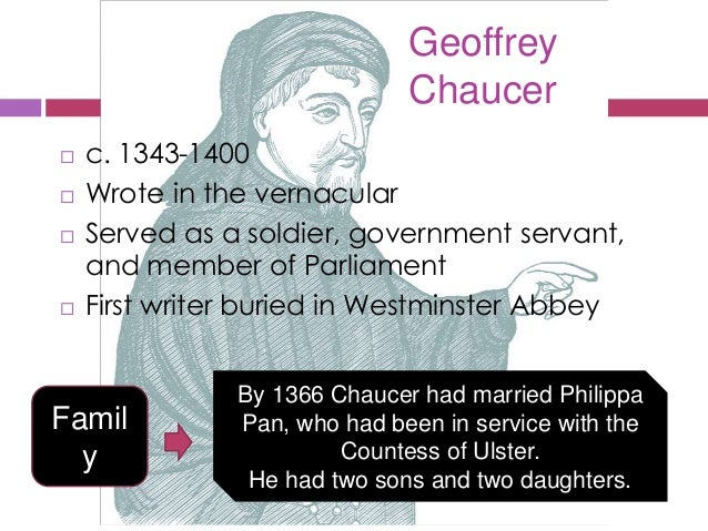 the perceptions of marriage in the canterbury tales by geoffrey chaucer Secular & sacred views of sexuality in chaucer's canterbury tales  chaucer's view of marriage continues in  chaucer, geoffrey the canterbury tales,.