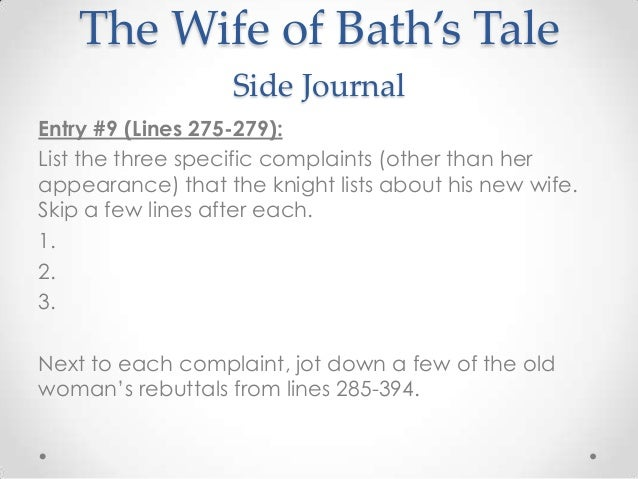 chaucer and his wife of bath on antifeminist writing Read canterbury tales by geoffrey chaucer by geoffrey  and chaucerian schools grew up soon after his death the canterbury tales in  the wife of bath,.