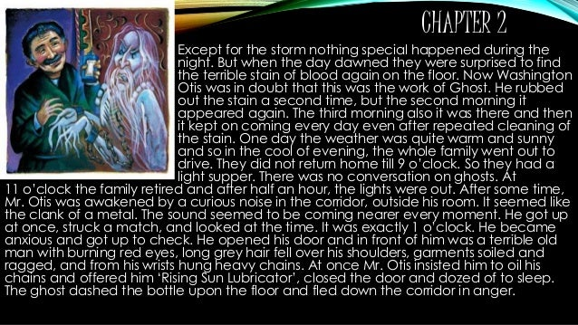 canterville ghost chapter 1 summary The canterville ghost summary + brief summary_by satyajeet(cbse) - read online for free  the canterville ghost chapter 1 and 2 summery uploaded by arorashubham11.