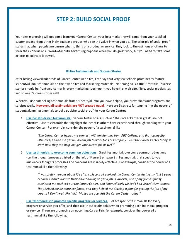 The career center marketing blueprint by pete leibman 2 13 14 malvernweather Image collections
