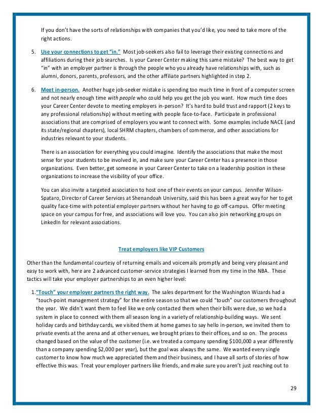 The career center marketing blueprint by pete leibman 2 28 29 malvernweather Image collections