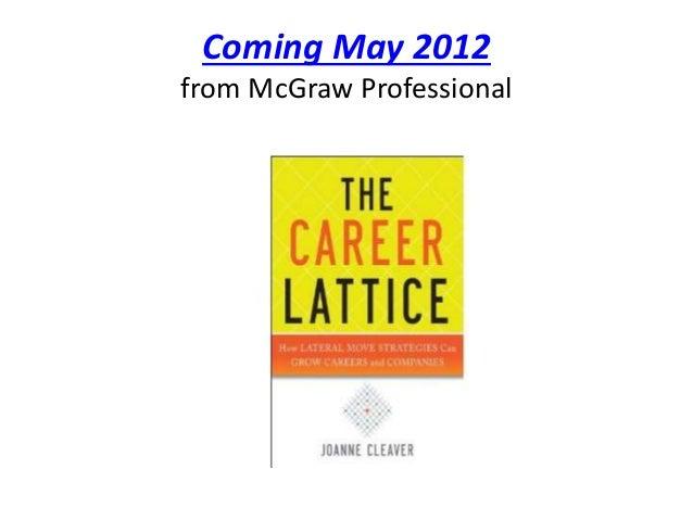 The career lattice pp Slide 2