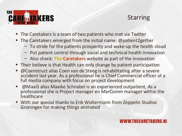 The Caretakers Mood-o-Meter, Technical Innovation Slide 2