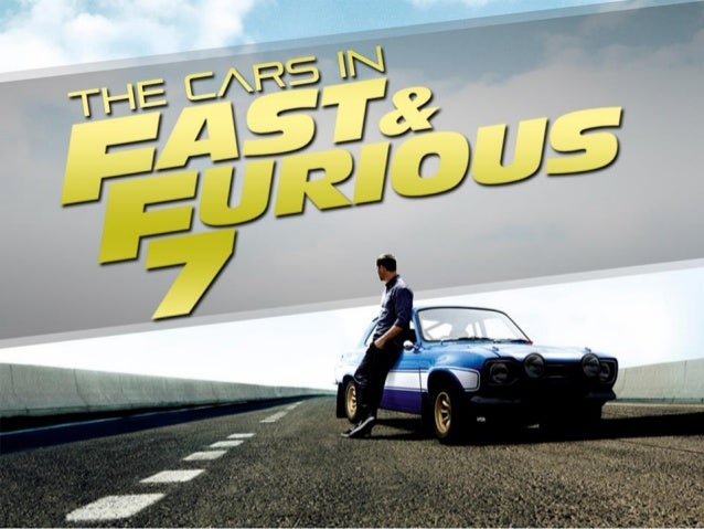 The Cars In Fast And Furious 7 Slide 1
