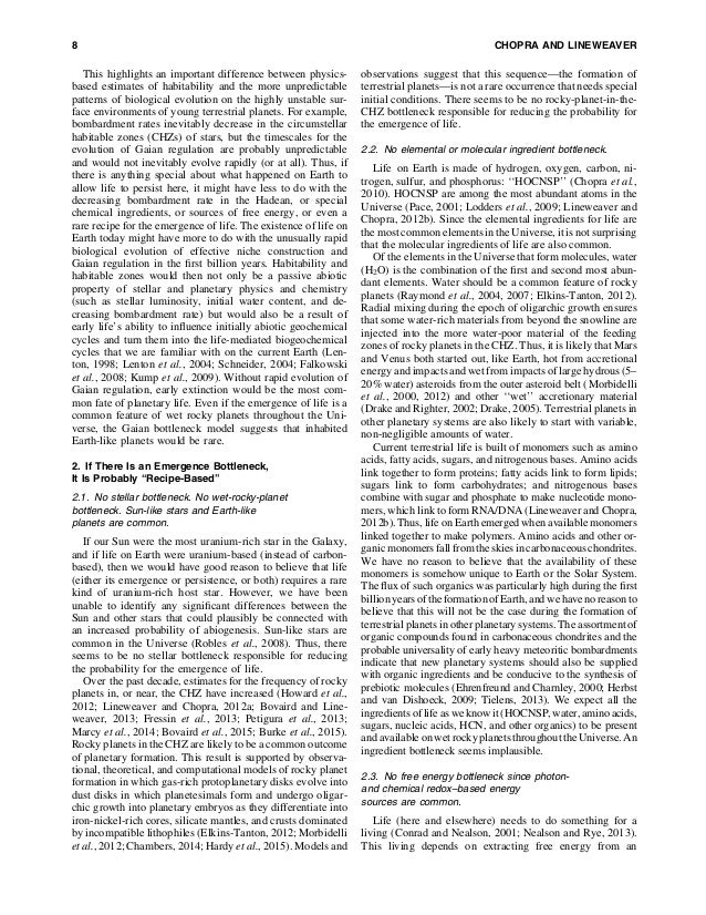 The case for_a_gaian_bottleneck_the_biology_of_habitability Slide 2