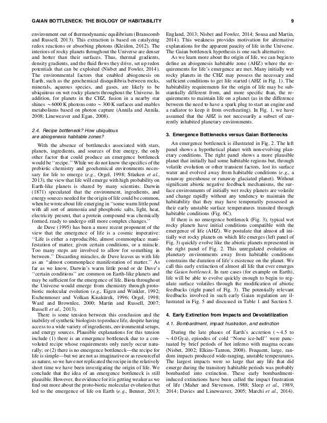 The case for_a_gaian_bottleneck_the_biology_of_habitability Slide 3