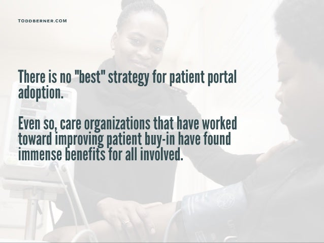 The Case For And Against Patient Portals