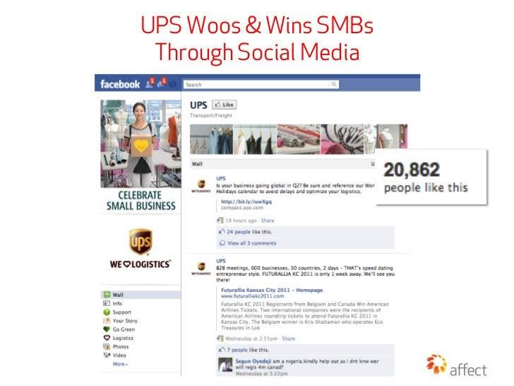 UPS Woos & Wins SMBs Through Social Media