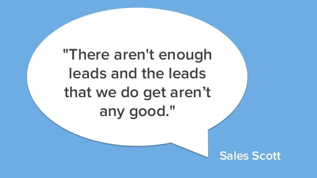 The Case for Enterprise Sales and Marketing Alignment Slide 2