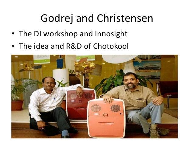 godrej chotukool case analysis by nadezhda A case of 'disruptive innovation' that is transforming rural india godrej  chotukool.