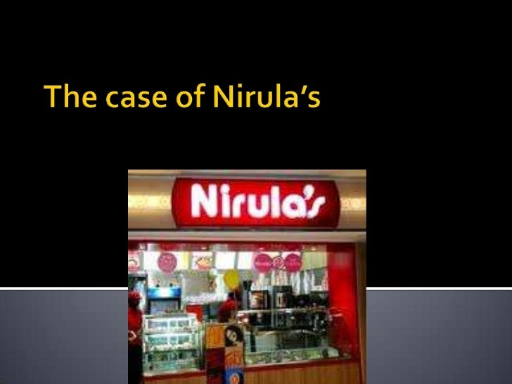 The case of Nirula's<br />