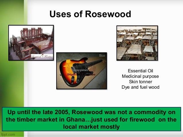Rosewood Trade In Ghana No Leadership No Rules No Laws