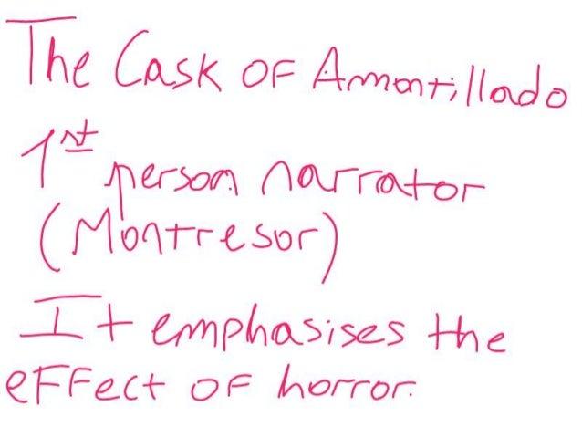 The cask of ammontilliado