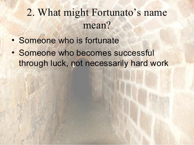 what does fortunato mean