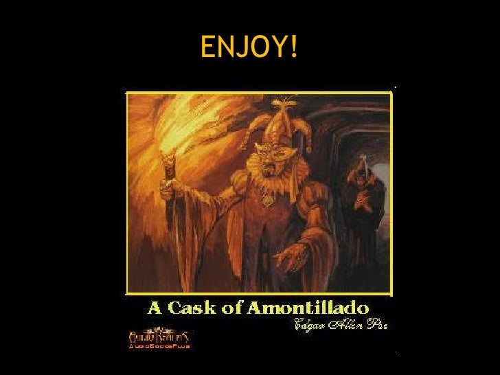 the question of montressors sanity in the short story the cask of amontillado The motive for murder in the cask of amontillado by edgar allan poe  indicate that the cask of amontillado is a story about the characters' power relations and.