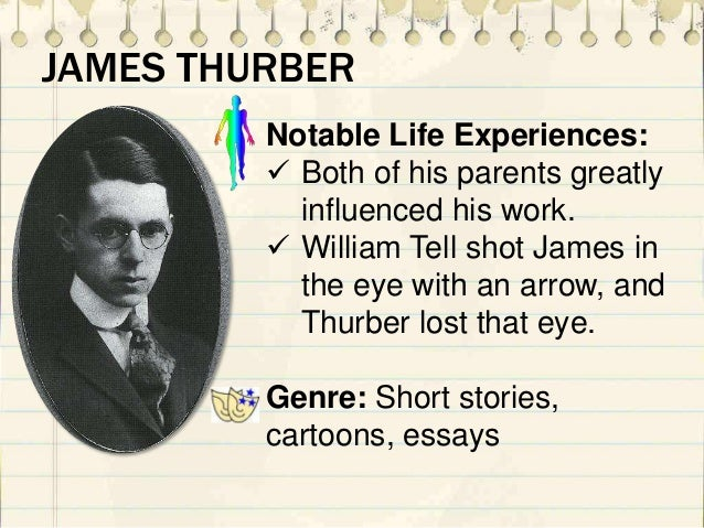 the secret life of james thurber essay analysis - james thurber's the secret life of walter mitty in james thurber's wonderful short  essay about analysis of the secret life of walter mitty by james thurber.