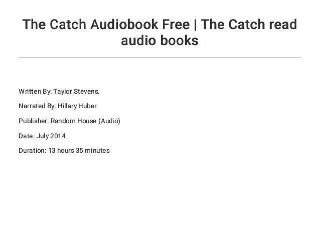 the catch stevens taylor