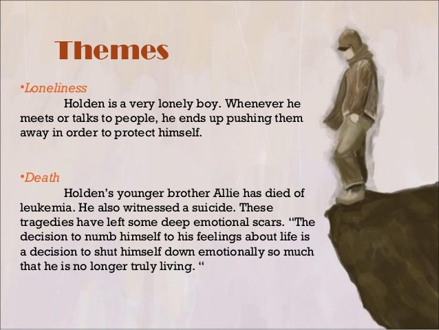 themes of catcher in the rye The catcher in the rye is a novel that exposes the loneliness and insanity inherent in modern day existence holden's confusion is blamed on the demented world he inhabits holden's confusion is blamed on the demented world he inhabits.