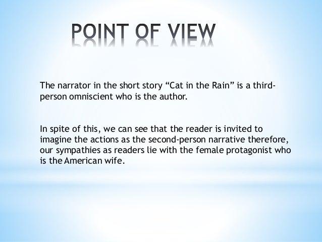 "Stylistic Analysis ""Cat in the Rain"""
