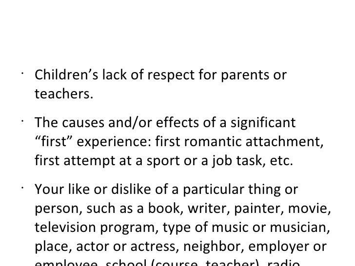 essays for teachers
