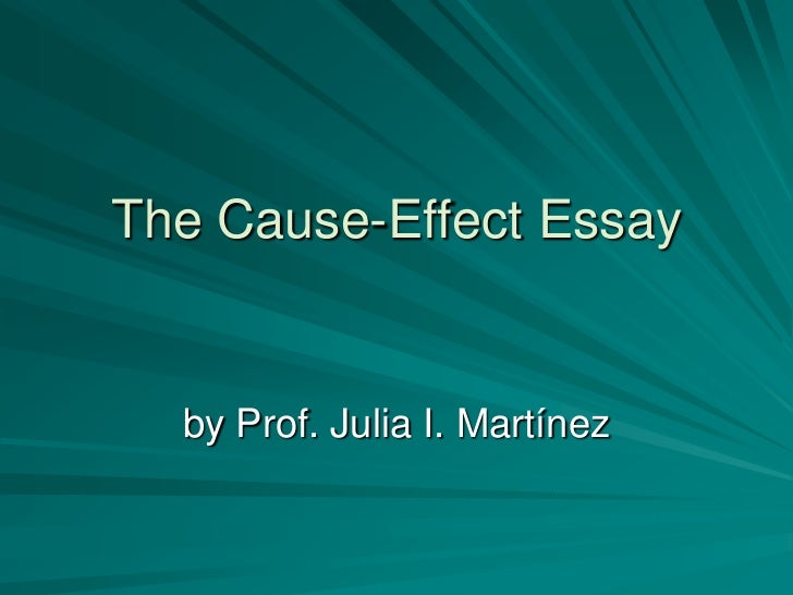technology cause effect essay Keywords: global warming essay, causes of global warming  however, the effect that global warming will cause on earth are extremely serious.