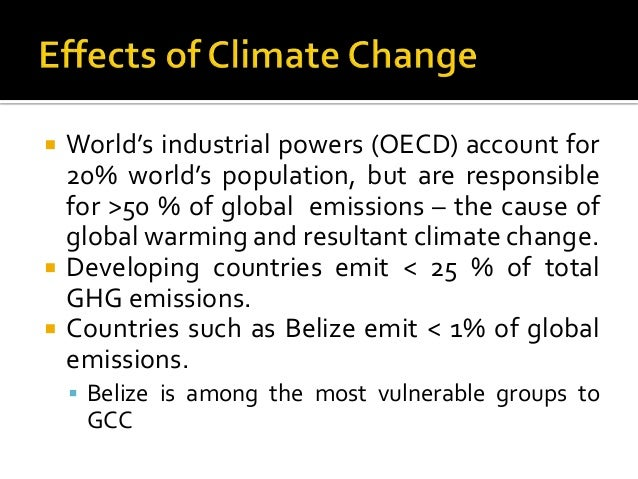 causes and effects of climate change pdf