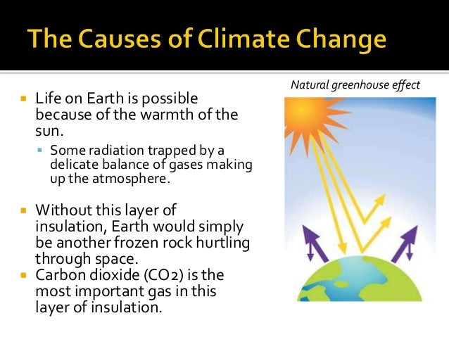 The causes and effects of climate change