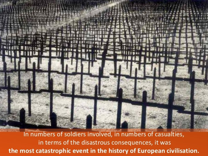 The Causes, Consequences and Catastrophe of World War 1