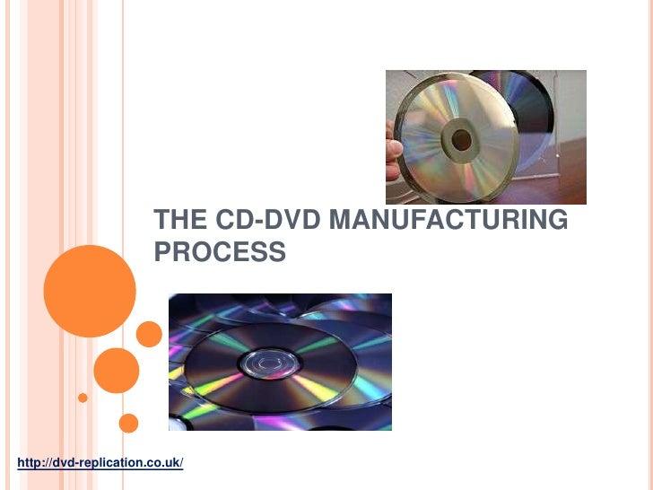 THE CD-DVD MANUFACTURING                       PROCESShttp://dvd-replication.co.uk/