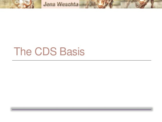 The CDS Basis