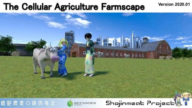The Cellular Agriculture Farmscape Version 2020.01