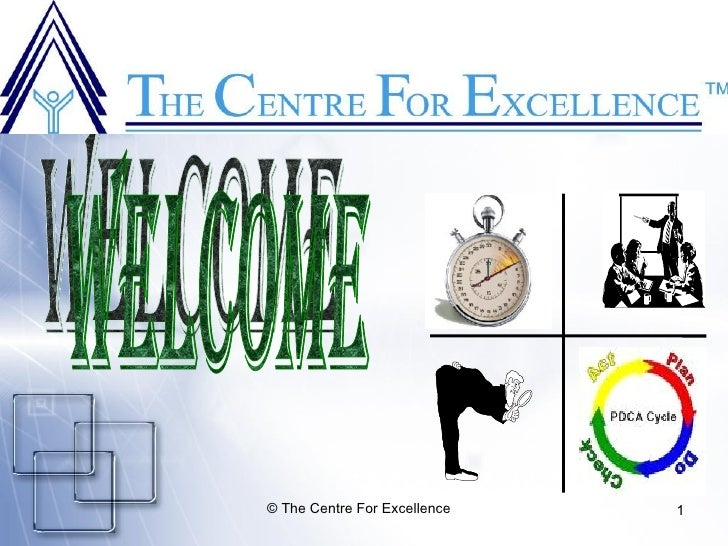© The Centre For Excellence   1