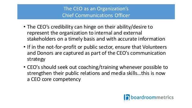 how to become a chief communications officer