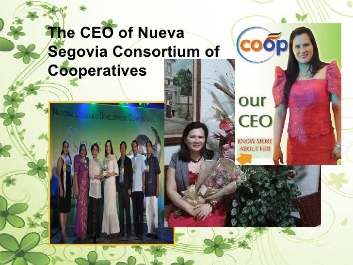 The CEO of NuevaSegovia Consortium ofCooperatives