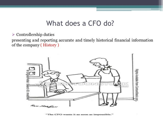 how a cfo can graduate to ceo Often a cfo will report the financial status of the hospital to the ceo and the  board of directors the cfo supervises the finance unit and is the chief financial .