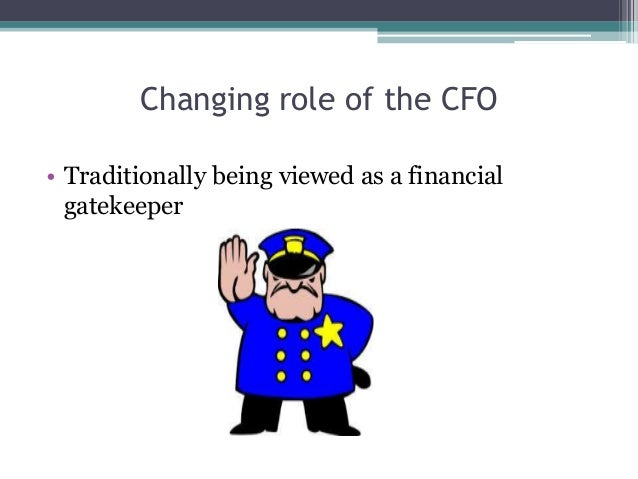 the cfo contemporary role