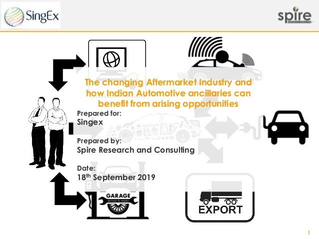 1 The changing Aftermarket Industry and how Indian Automotive ancillaries can benefit from arising opportunities Prepared ...