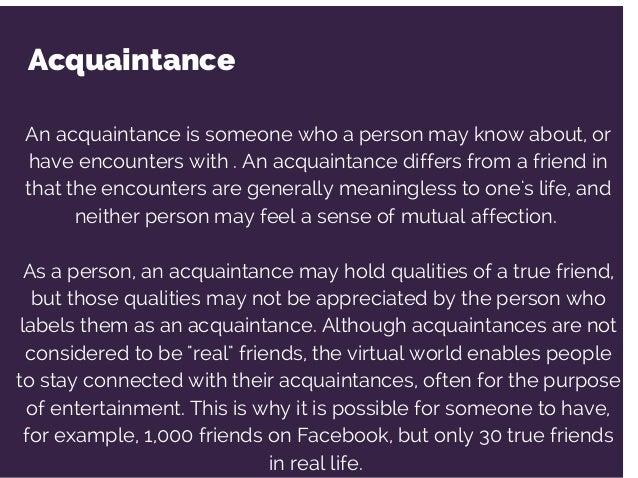 Friend and friendship essay