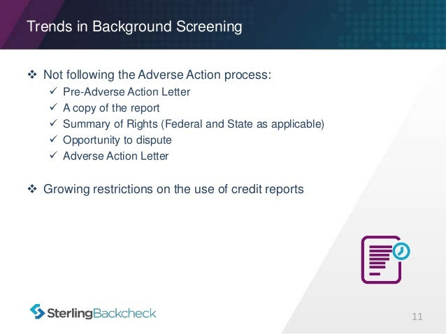 pre adverse action letter the changing of background checks 24041 | the changing face of background checks 11 638