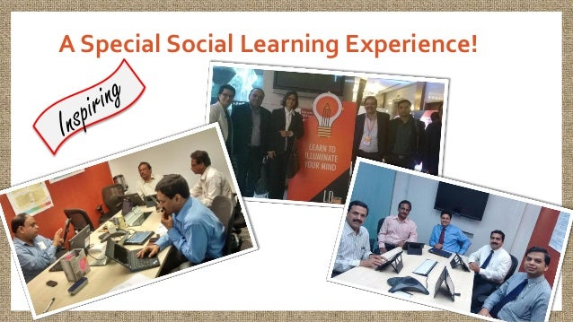A Special Social Learning Experience!