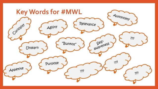 Key Words for #MWL