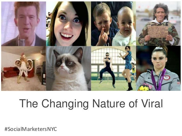 The Changing Nature of Viral#SocialMarketersNYC