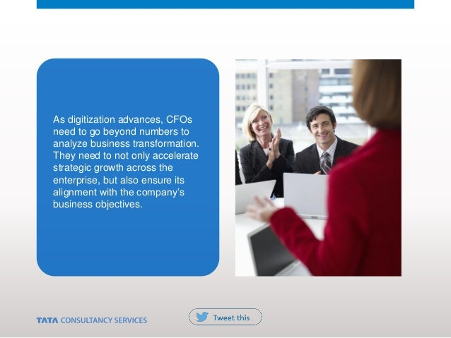 As digitization advances, CFOs need to go beyond numbers to analyze business transformation. They need to not only acceler...