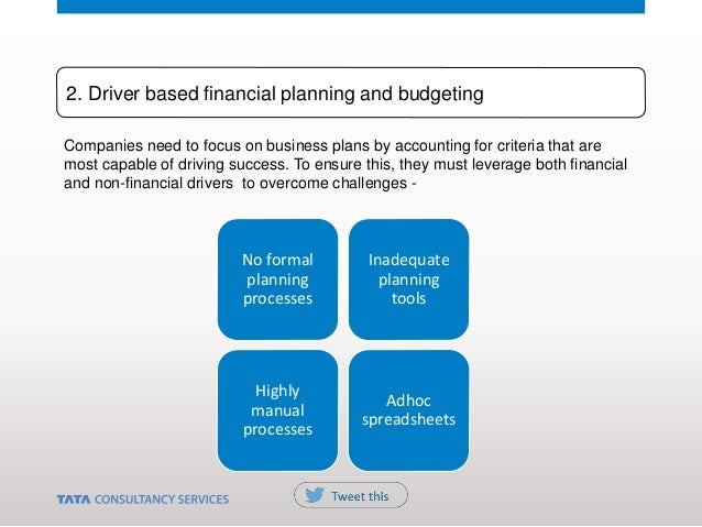 Companies need to focus on business plans by accounting for criteria that are most capable of driving success. To ensure t...